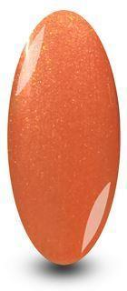 NYK1 Orange Glitter Gel Polish Nailac Barley Sugar Nail polish
