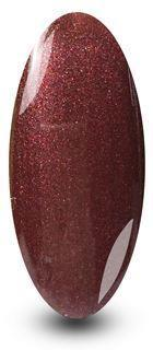 Luscious Brown Glitter Gel Nail Polish by NYK1
