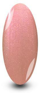 Powder Puff Light Baby Pink Glitter Gel Nail Polish by NYK1