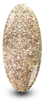 Nailac Gold Be Dazzled Glitter Nail Polish