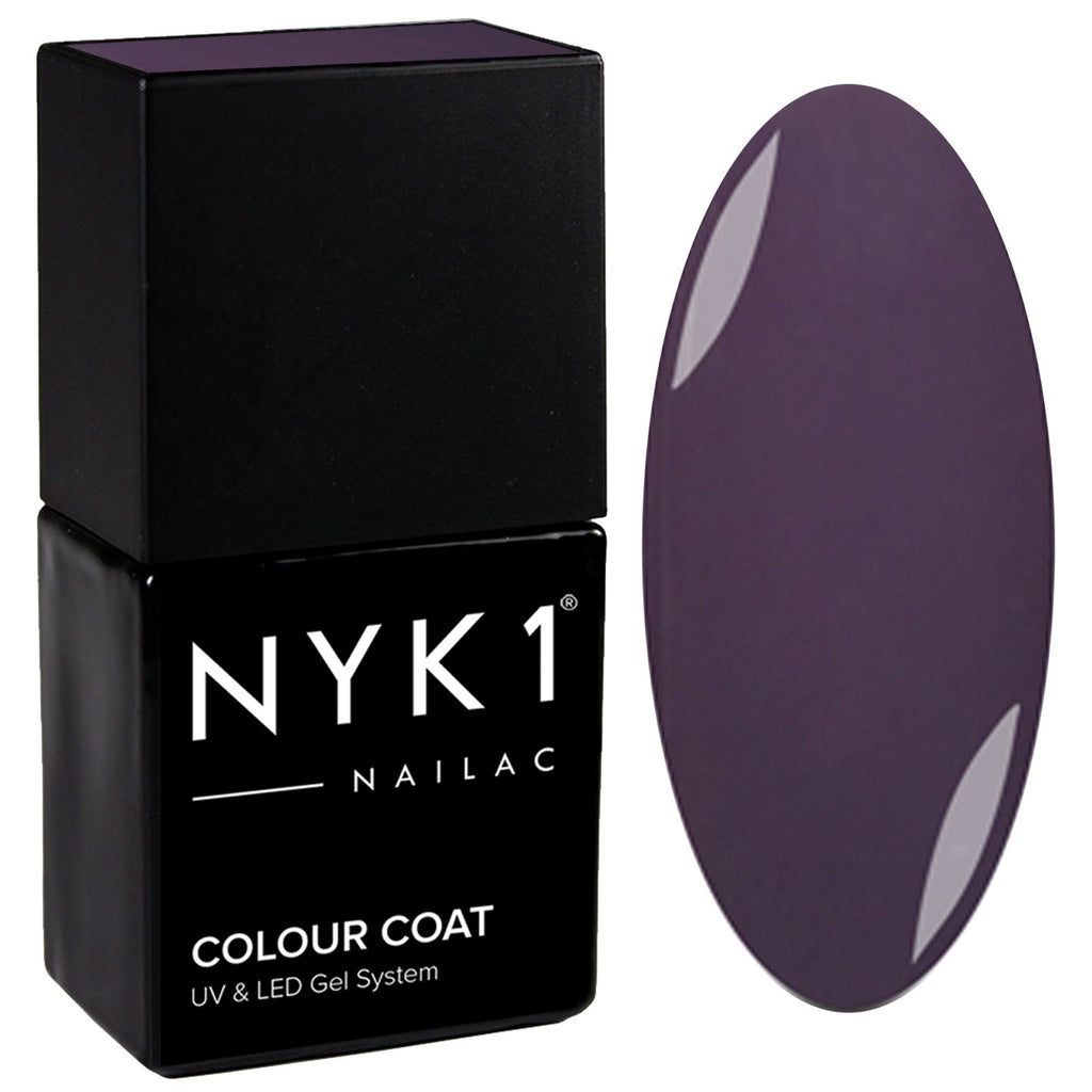 NYK1 Purple Charisma Gel Nail Polish
