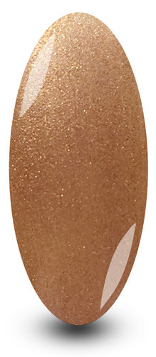 Nailac Gold Coffee Luxe Glitter Sparkle Gel Polish for Nails