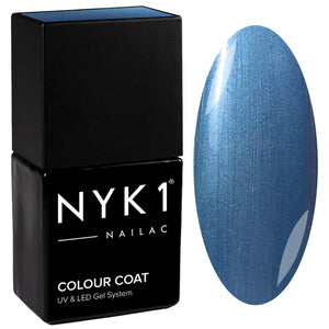 NYK1 Nailac Denim Blue Gel Nail Polish