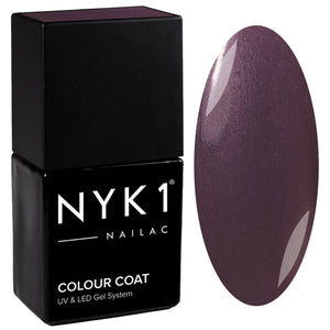 NYK1 Nailac Purple Pastel Gel Nail Polish