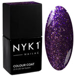 NYK1 Purple Quality Street Glitter Sparkle Gel Nail Polish