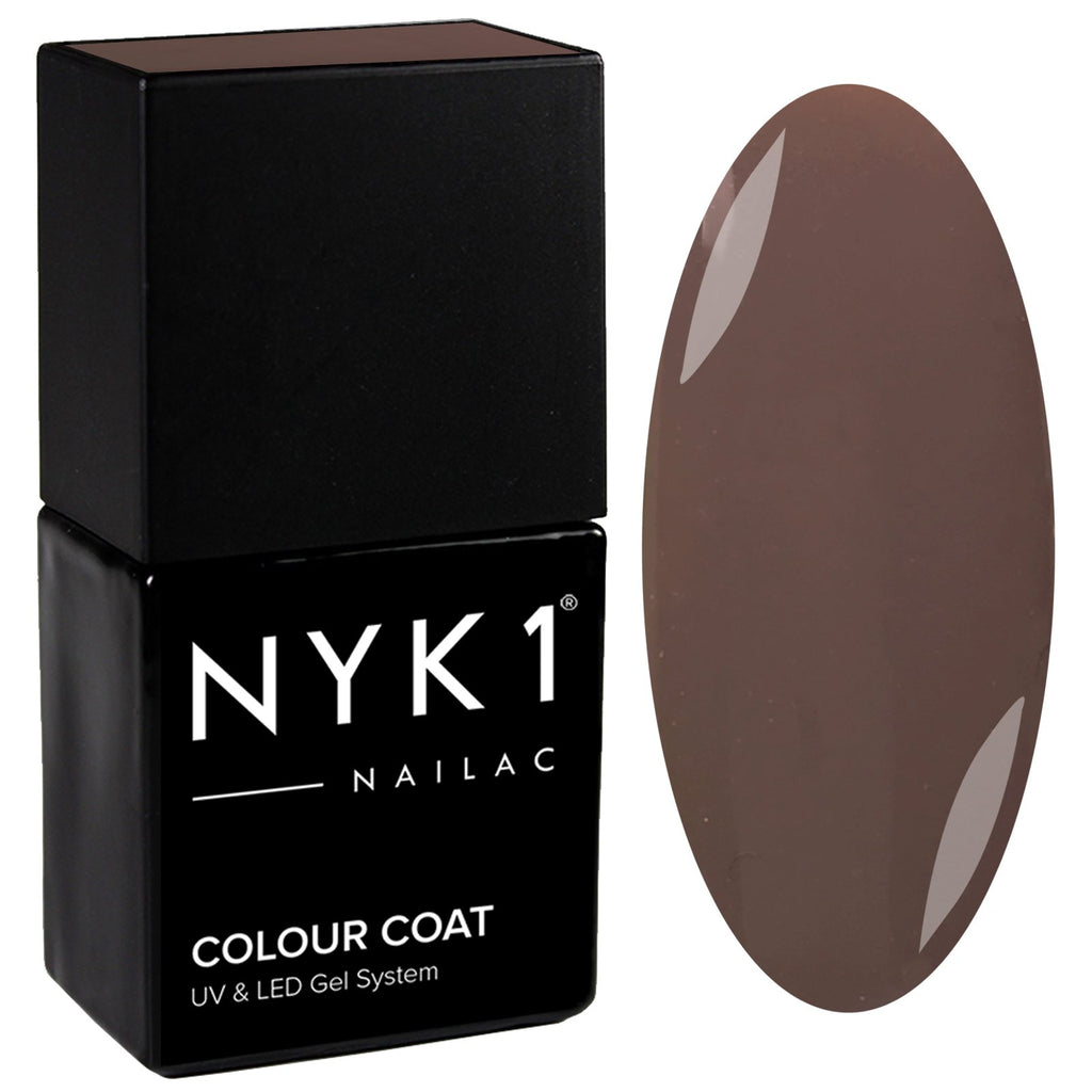 NYK1 Nailac Sable Light Brown Gel Nail Polish