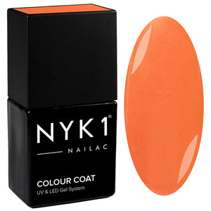 NYK1 Nailac Sienna Light Orange Gel Nail Polish