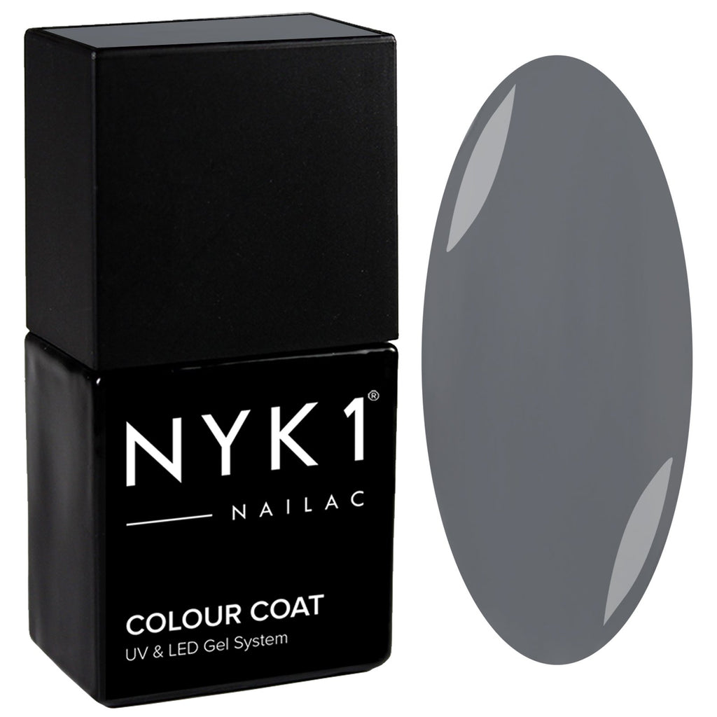 NYK1 Nailac Slate Grey Gel Nail Polish
