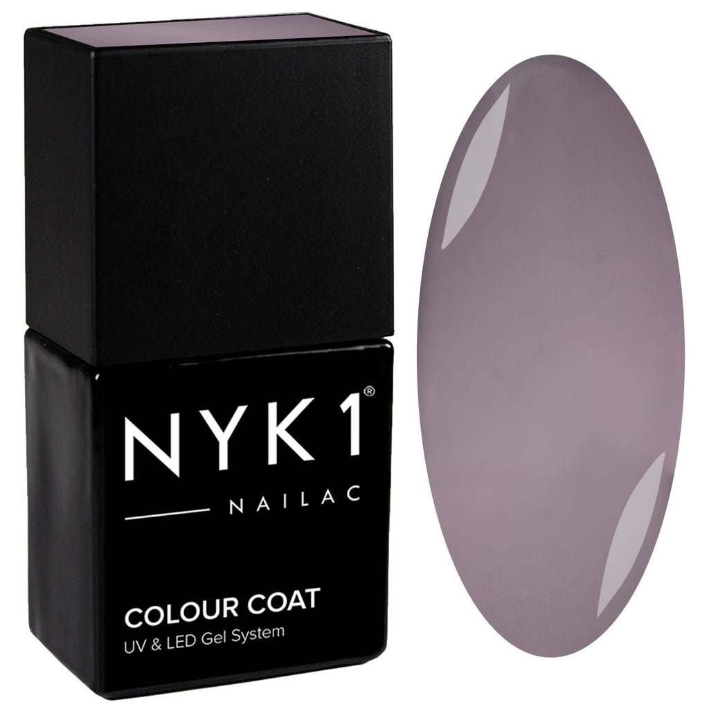 NYK1 Nailac Stone Grey Gel Nail Polish