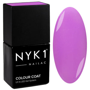 NYK1 Nailac Violetta Light Purple Gel Nail Polish