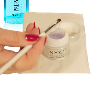 NYK1 Nail Force plus Top and Base Coat Bundle
