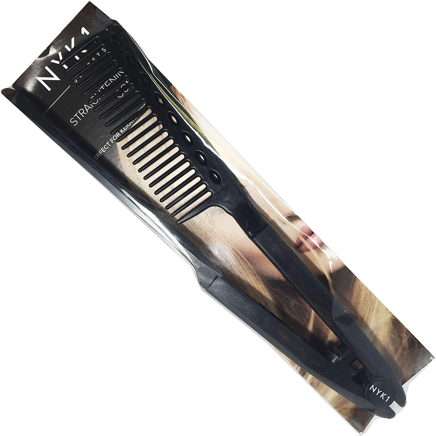NYK1 Best Hair Straightening Comb Straightener