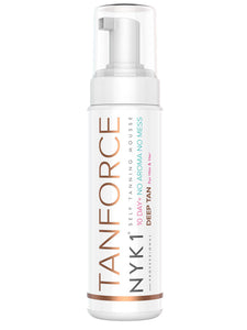 NYK1 Tan Force Self Tan Cream Mousse - no streak, no stain Tanning