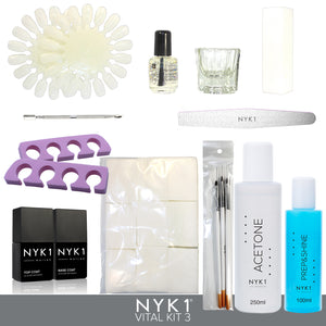 NYK1 Nail Accessory Kit Nailac Vital Kit 3