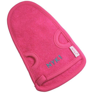 NYK1 Exfolimitt Spa Mitt in Black or Pink for great exfoliation