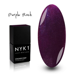 Nailac Purple Rock Gel Polish for Nails