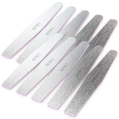 NYK1 Emery Board Nail Files for Natural and Acrylic Nails
