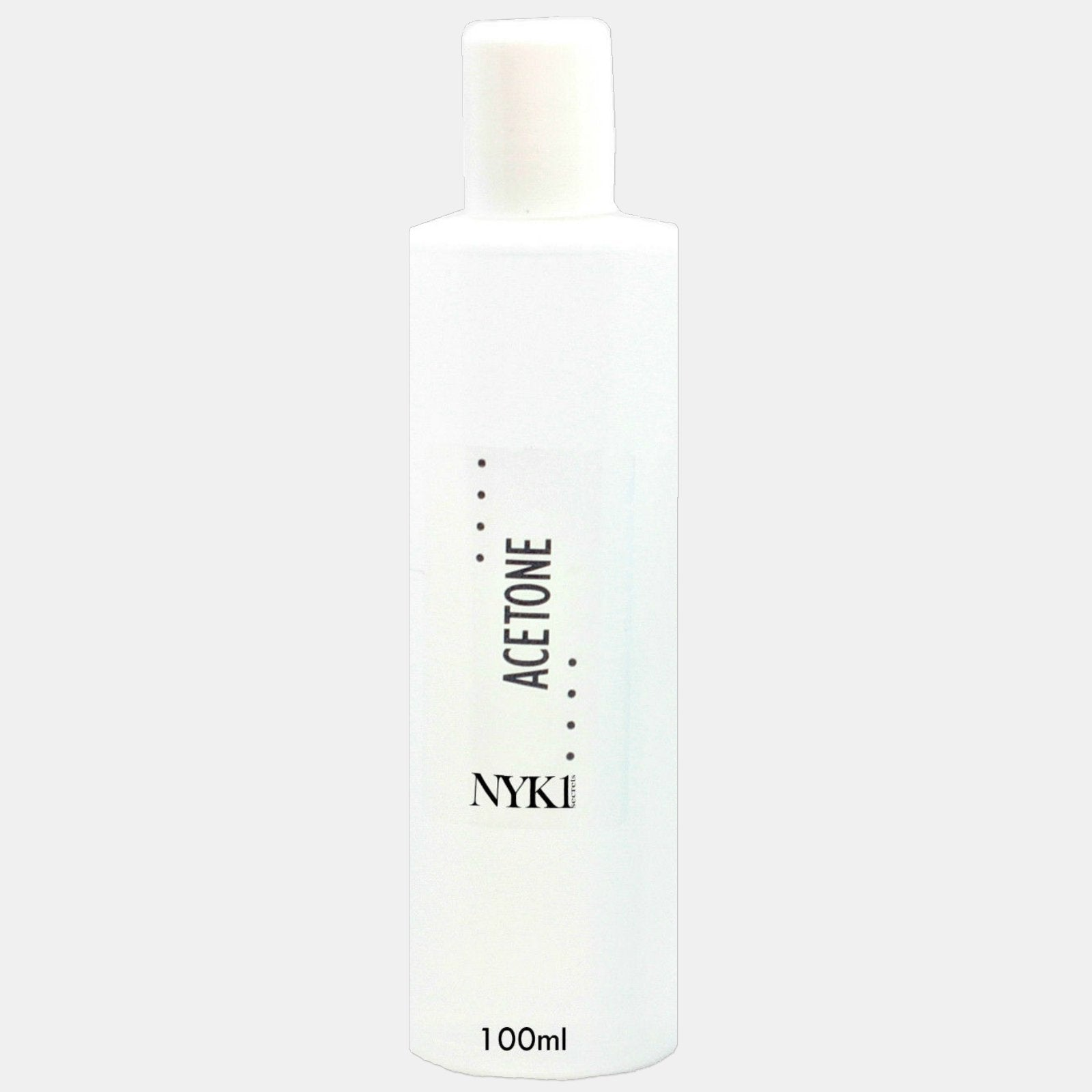 Pure Acetone soak gel nail polish remover from NYK1