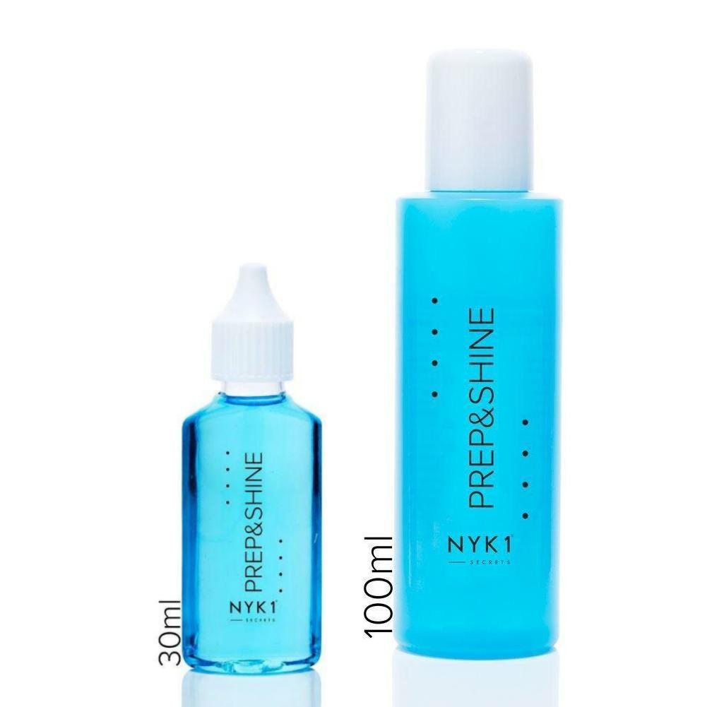 Nail Prep and Shine Residue Remover 30ml and 100ml