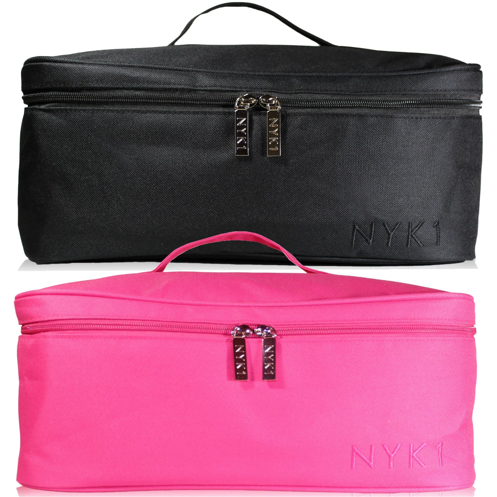 NYK1 Cosmetic Make Up Vanity Case Bag Pink or Black