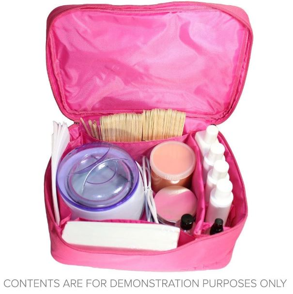 NYK1 Make Up Vanity Bag Pink with lots of storage