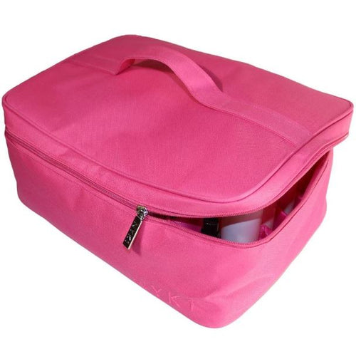 NYK1 Multi-Purpose Beauty Bag (Black / Pink)