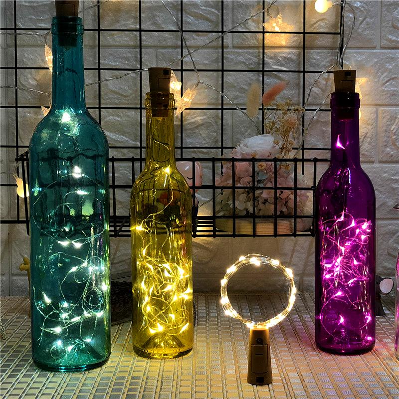 DIY Bottle Lights Artwork Unique Handcrafts
