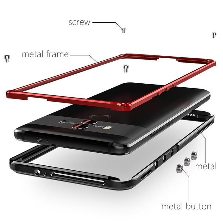 Hard Metal Aluminum Armor Bumper Phone Case for Huawei Mate 10 / Mate 10 Pro