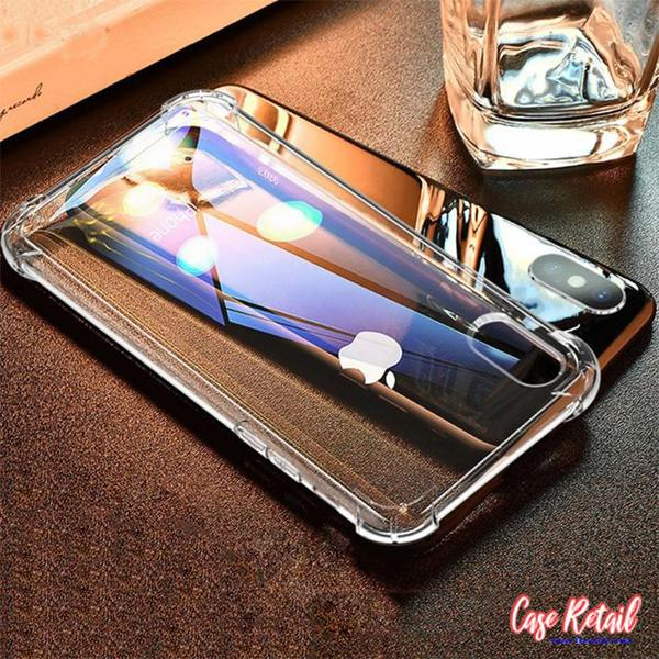Anti Shock TPU Transparent Case For iPhone