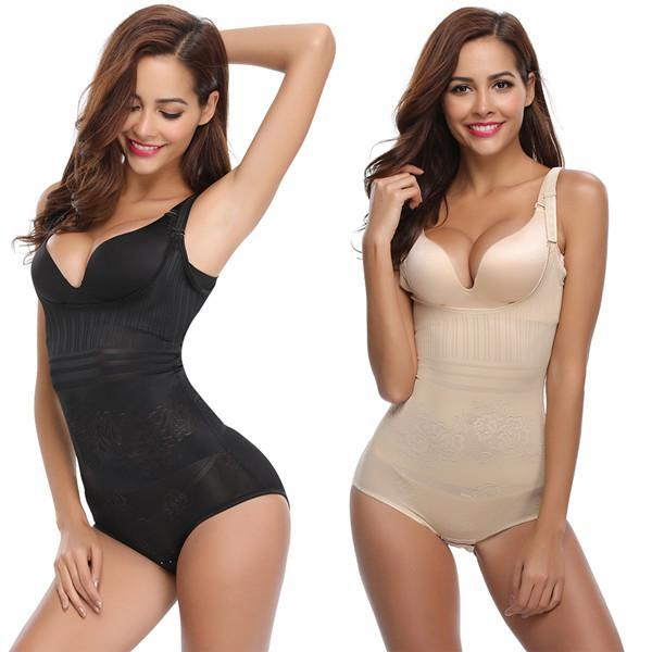 Sexy Lady Body Shaper U-Shaped Gather Chest Collect Waist Carry Buttock