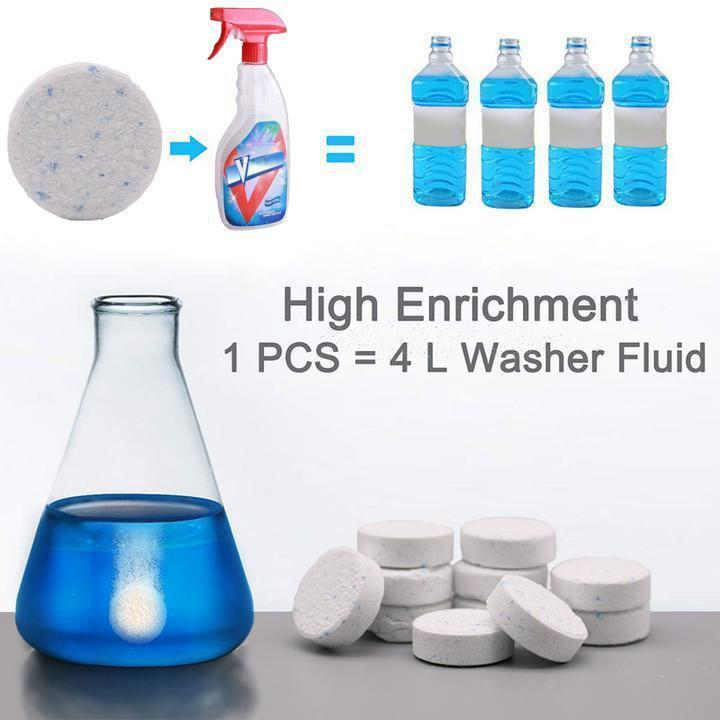 2019 New Multifunctional Effervescent Spray Cleaner Set