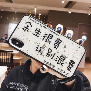 Epoxy Soft Shell Anti-fall Protection Cover for iPhone