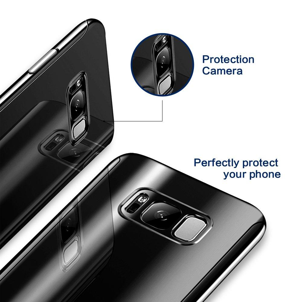 360 Degree Full Body Case Soft HD Screen Protection Protector Film Ultralight Slim Hard Mirror Chrome Electroplate Cover for Samsung Galaxy S10 S10Plus S10lite