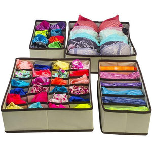Foldable Closet Underwear Organizer(1 Set)