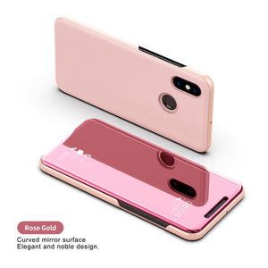Clear View Smart Mirror Phone Case For Xiaomi