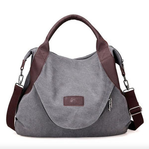 Bags - Women's Large Pocket Casual Handbag