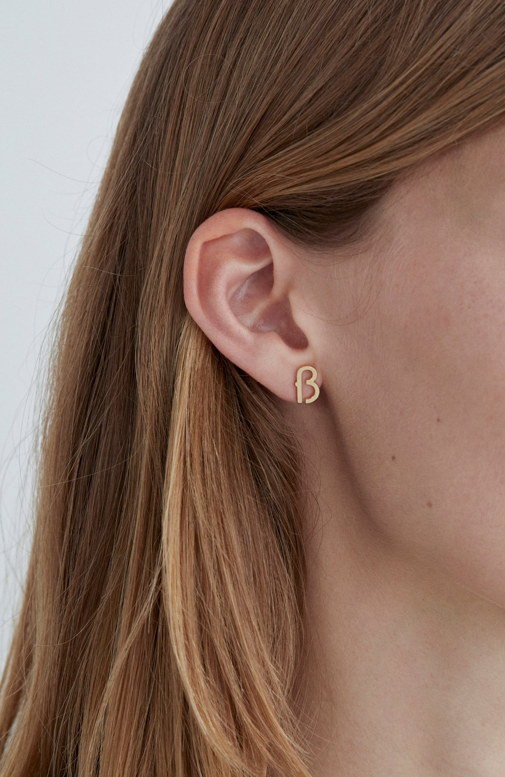 ß Eszett 40pt Single Earring