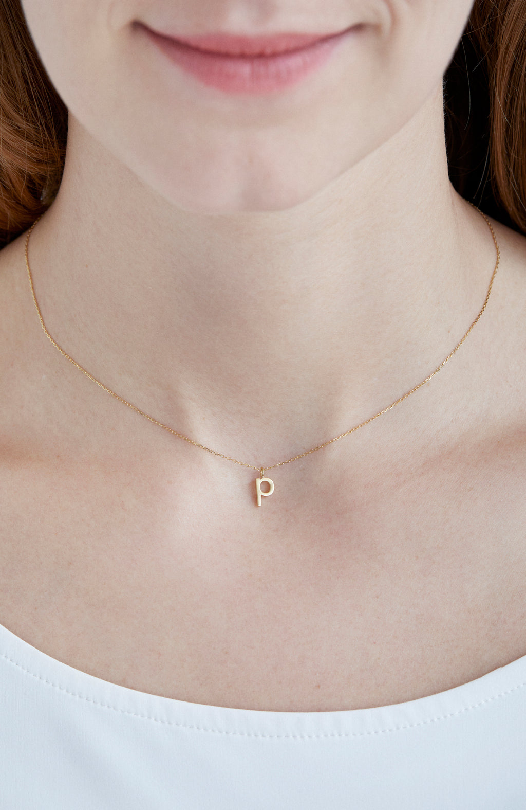 p 30pt Necklace