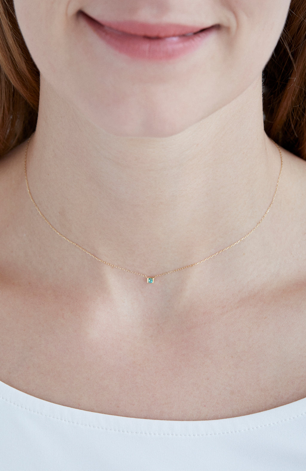 Cell of leaf Necklace