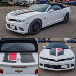 Chevrolet Camaro 2016 - 2018 RS Rally and Racing Stripes 45TH ANNIVERSARY style decals set