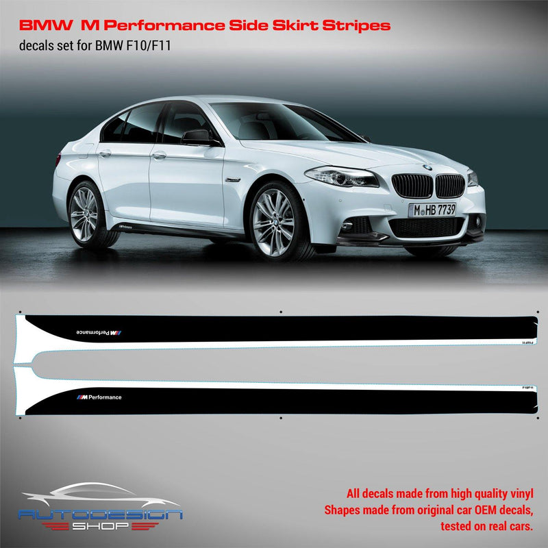 BMW M Performance Set of Side Stripes for M5 F10 / F11