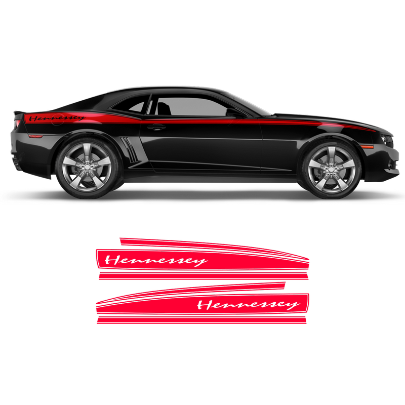 Hennessey Side Stripes, Camaro 2010 - 2015
