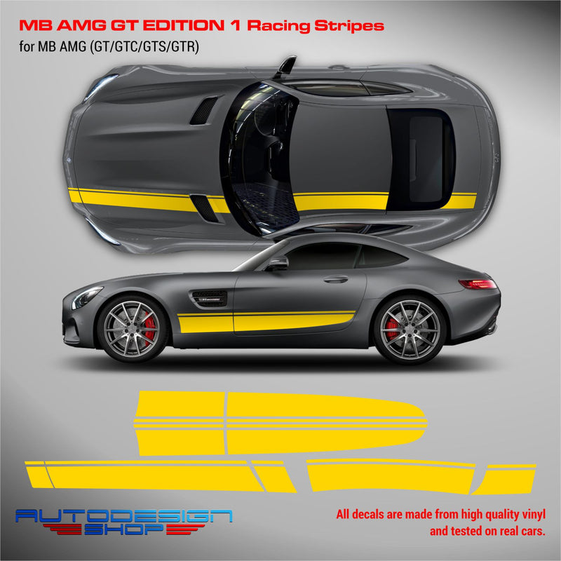 MB AMG GT Edition 1 Racing Stripes
