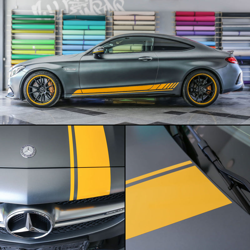 MB AMG C class edition 1 design Racing stripes