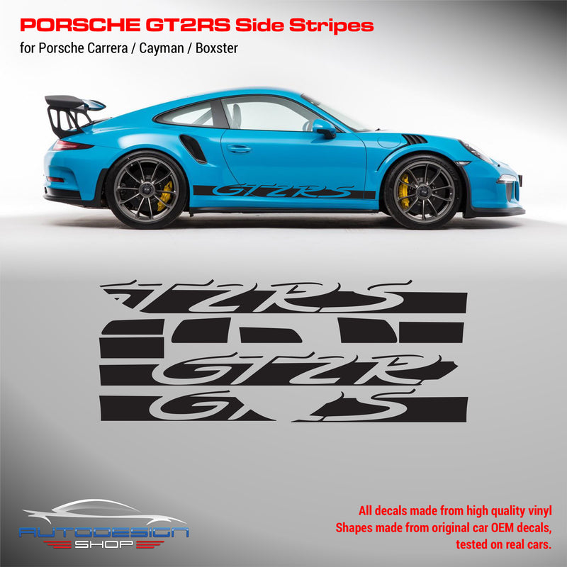 Porsche GT2 RS Racing side stripes for Carrera