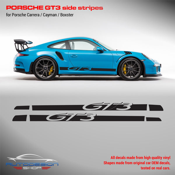 Porsche GT3 Racing side stripes