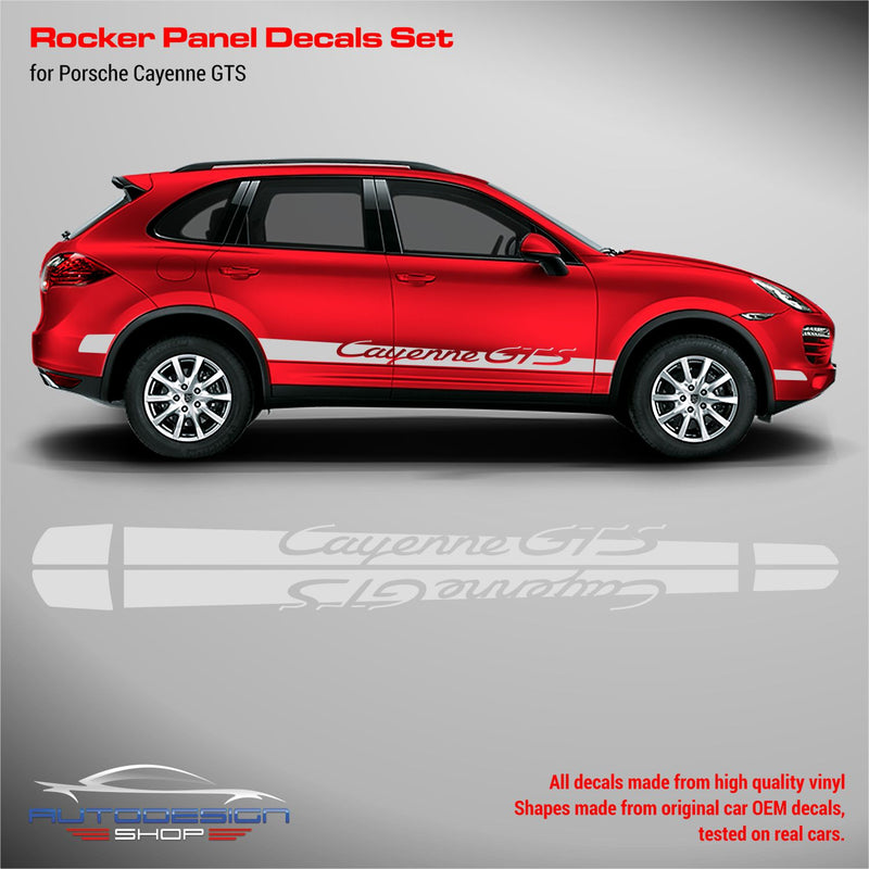 Porsche Cayenne GTS Racing Side Stripes