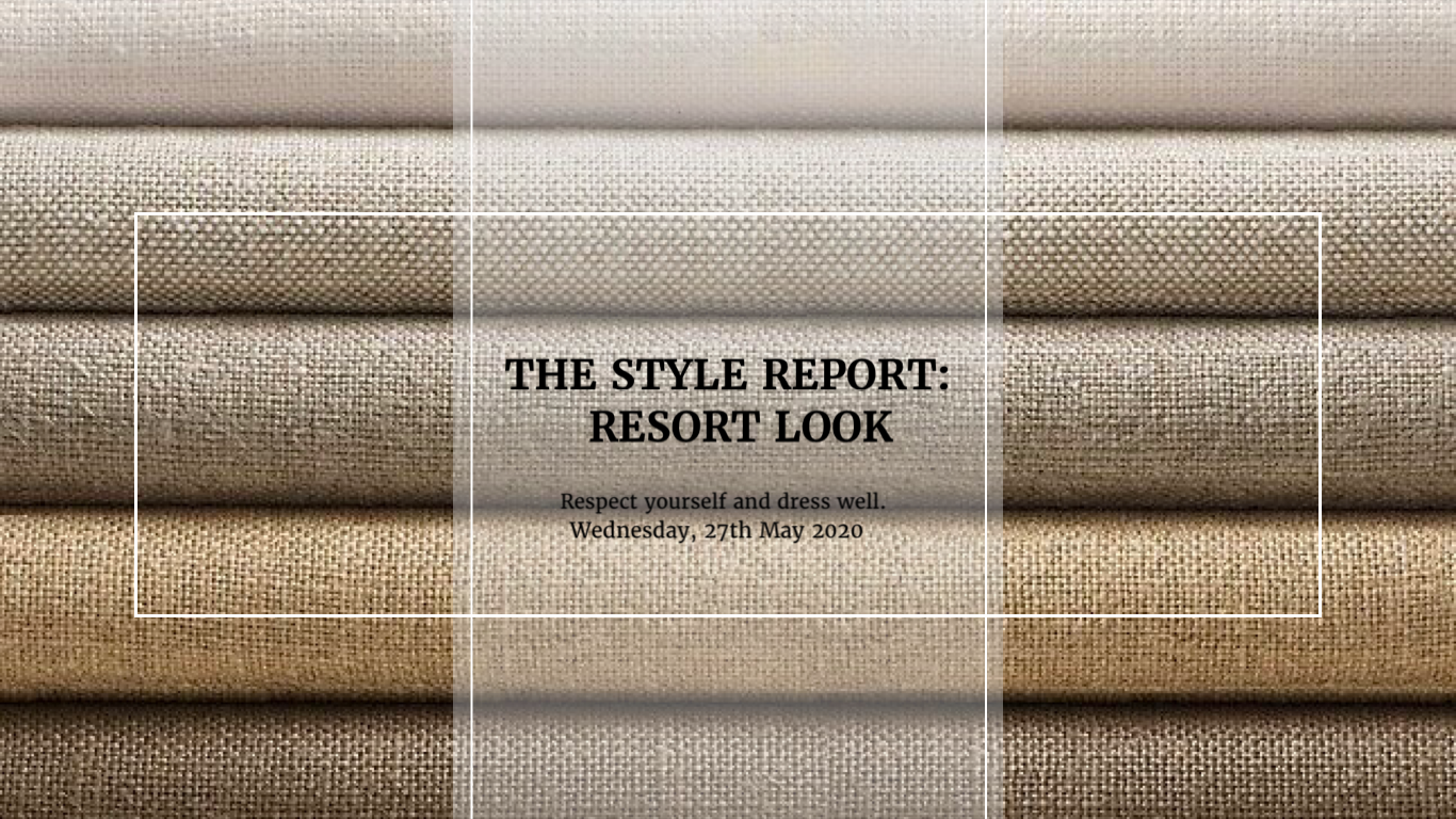 The Style Report: Resort Style
