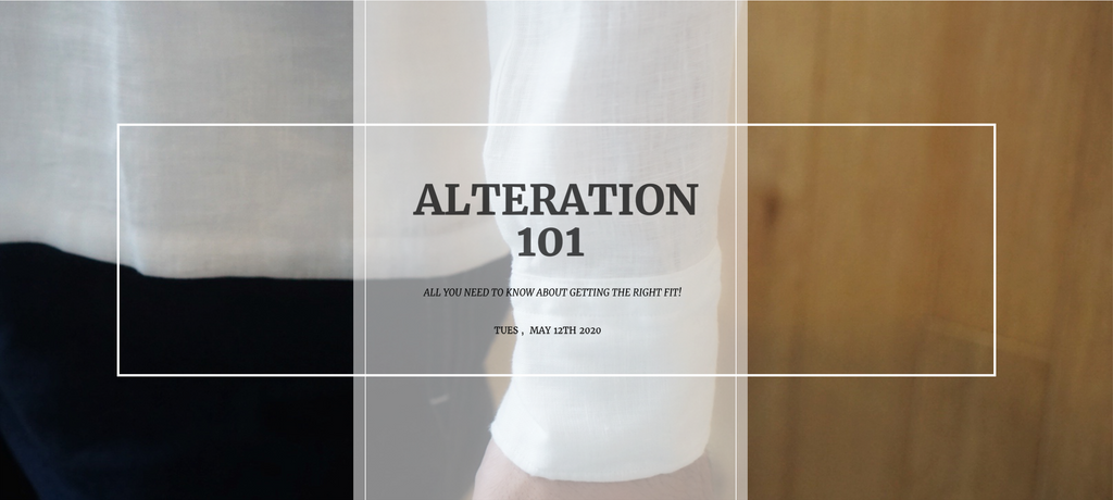 ALTERATION 101 - SHIRT