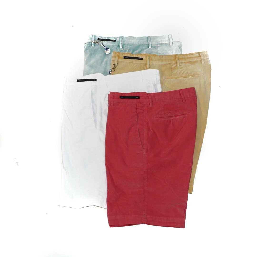 PT01 VT92 Cotton Corduroy Shorts